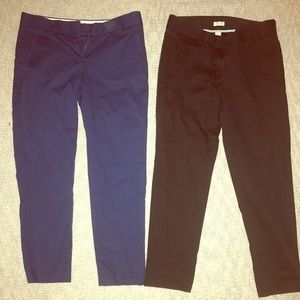 J-Crew Cropped Work Pants!